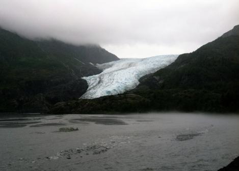 Exit Glacier in August.